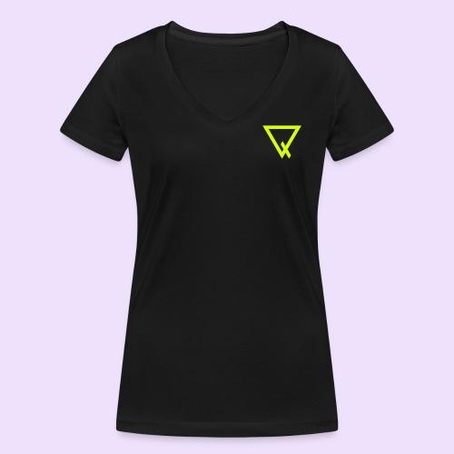 2 - Frauen Bio-T-Shirt mit V-Ausschnitt von Stanley & Stella