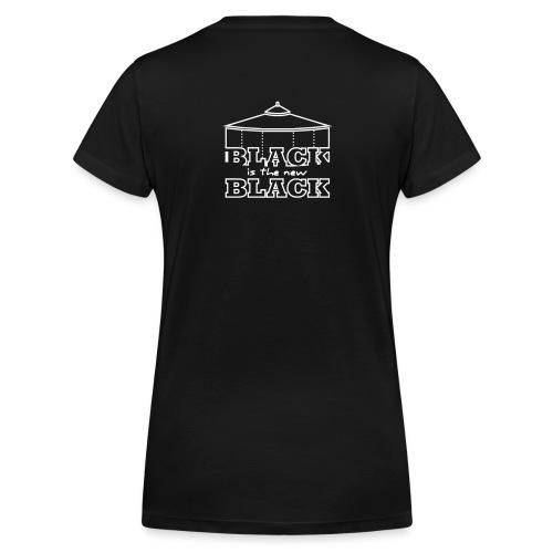 Black FETT - Frauen Bio-T-Shirt mit V-Ausschnitt von Stanley & Stella
