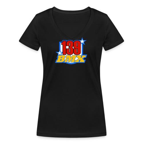 139 02 - Frauen Bio-T-Shirt mit V-Ausschnitt von Stanley & Stella