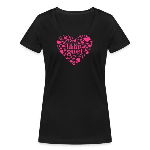 laeaerguetherz - Frauen Bio-T-Shirt mit V-Ausschnitt von Stanley & Stella
