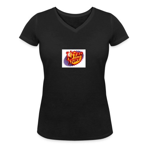 xstarstoryok - T-shirt bio col V Stanley & Stella Femme