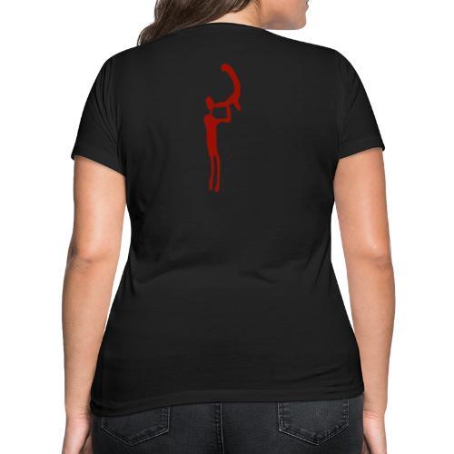 Kivik Collection - Ekologisk T-shirt med V-ringning dam från Stanley & Stella