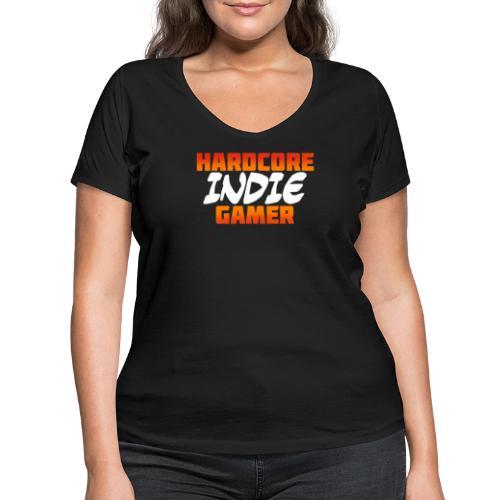 H_rdcore Indie Gamer - Frauen Bio-T-Shirt mit V-Ausschnitt von Stanley & Stella
