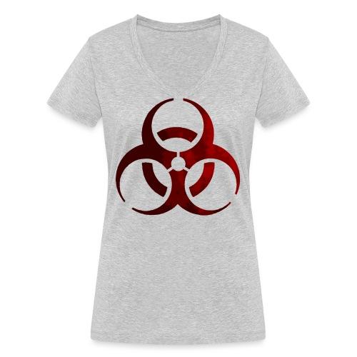 Biohazard (2) - Camiseta ecológica mujer con cuello de pico de Stanley & Stella