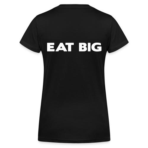 eatbig - Women's Organic V-Neck T-Shirt by Stanley & Stella
