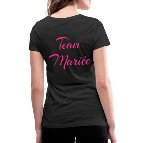 Enterrement de vie de jeune fille - T-shirt bio col V Stanley & Stella Femme