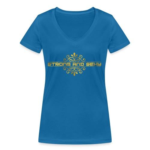 S.A.S. Women shirt - Vrouwen bio T-shirt met V-hals van Stanley & Stella