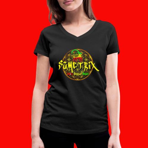 SÜEMTRIX FANSHOP - Frauen Bio-T-Shirt mit V-Ausschnitt von Stanley & Stella