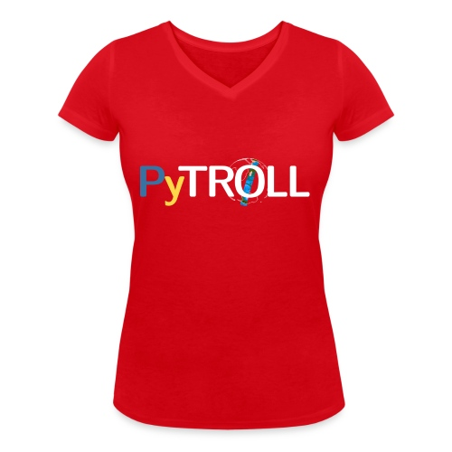 pytröll - Women's Organic V-Neck T-Shirt by Stanley & Stella