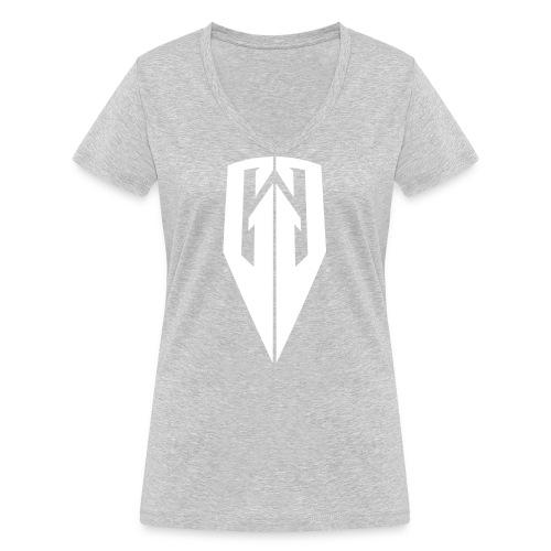 Kingdom Customs Shop Tee Womens - Women's Organic V-Neck T-Shirt by Stanley & Stella