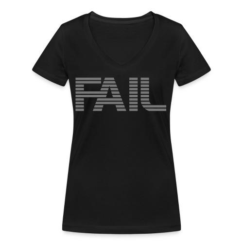 FAIL - Frauen Bio-T-Shirt mit V-Ausschnitt von Stanley & Stella