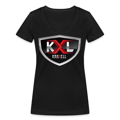 Kraxell - Frauen Bio-T-Shirt mit V-Ausschnitt von Stanley & Stella