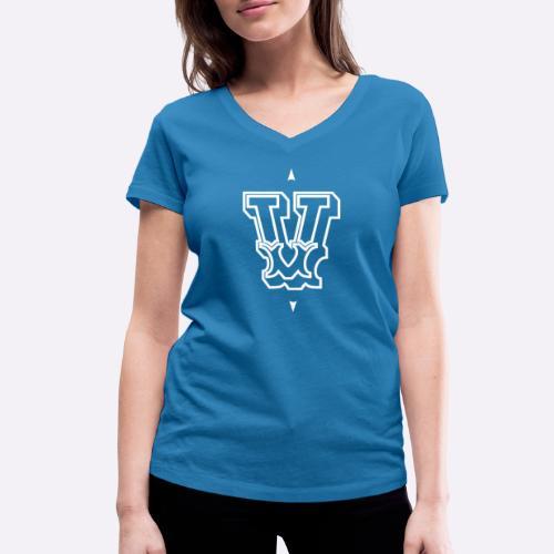 The 'V' by Heartcore Vegan - Vrouwen bio T-shirt met V-hals van Stanley & Stella