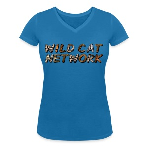 WildCatNetwork 1 - Women's Organic V-Neck T-Shirt by Stanley & Stella