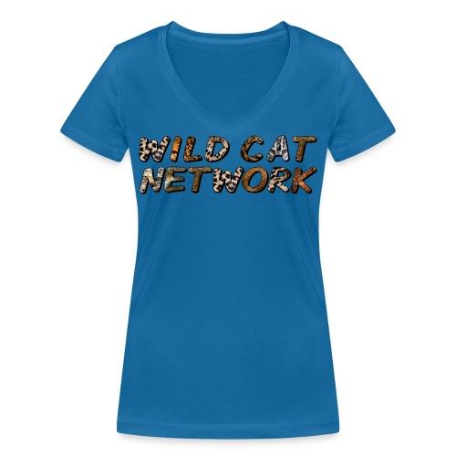 WildCatNetwork 1 - Frauen Bio-T-Shirt mit V-Ausschnitt von Stanley & Stella