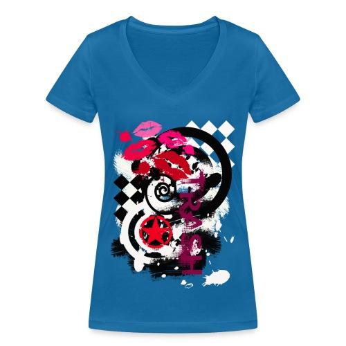 NMA 722 - Frauen Bio-T-Shirt mit V-Ausschnitt von Stanley & Stella