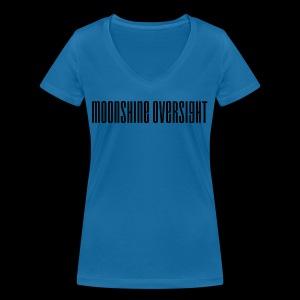 Moonshine Oversight logo - T-shirt bio col V Stanley & Stella Femme