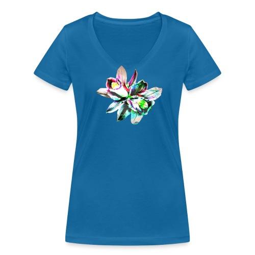 Flowers - T-shirt bio col V Stanley & Stella Femme