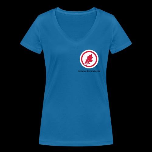 Initiative Eichenallee - Frauen Bio-T-Shirt mit V-Ausschnitt von Stanley & Stella