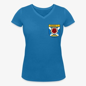 Montrose FC Supporters Club - Women's Organic V-Neck T-Shirt by Stanley & Stella