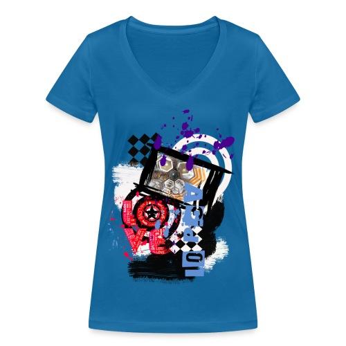 NMA 724 - Frauen Bio-T-Shirt mit V-Ausschnitt von Stanley & Stella