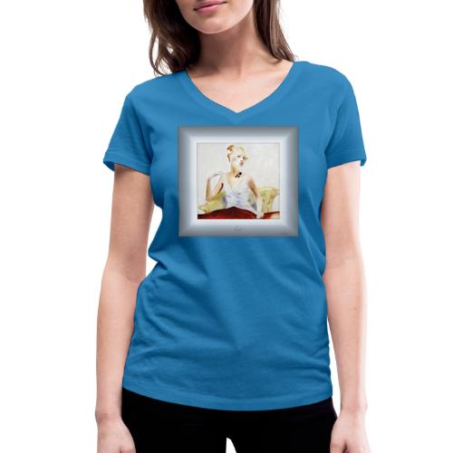 lady - T-shirt bio col V Stanley & Stella Femme