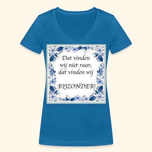 Dat vinden wij niet raar, dat vinden wij BIJZONDER - Vrouwen bio T-shirt met V-hals van Stanley & Stella