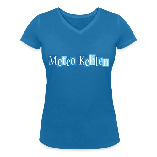 mk logo 3 - Frauen Bio-T-Shirt mit V-Ausschnitt von Stanley & Stella