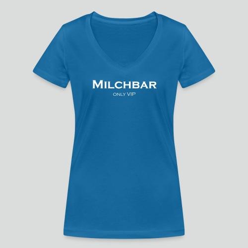 Milchbar – Only VIP - Frauen Bio-T-Shirt mit V-Ausschnitt von Stanley & Stella
