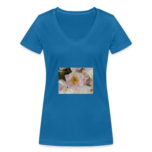 Fraîcheur d'été. - T-shirt bio col V Stanley & Stella Femme