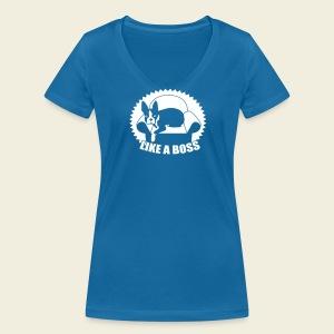 Boston Boss - Frauen Bio-T-Shirt mit V-Ausschnitt von Stanley & Stella