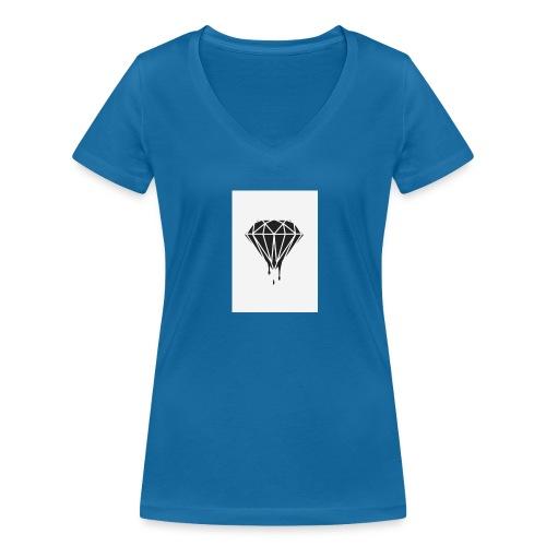 Logo - T-shirt bio col V Stanley & Stella Femme