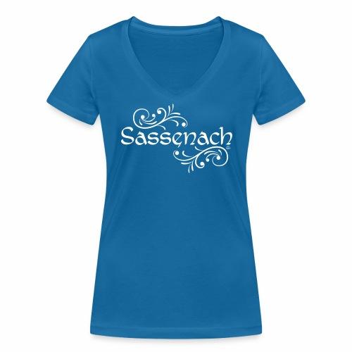 sassenach_weiss - Frauen Bio-T-Shirt mit V-Ausschnitt von Stanley & Stella