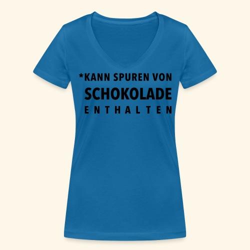 Schokoliebe - Frauen Bio-T-Shirt mit V-Ausschnitt von Stanley & Stella