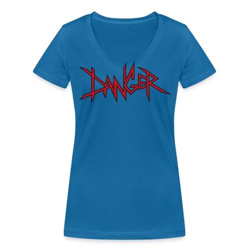 DANGER - T-shirt bio col V Stanley & Stella Femme