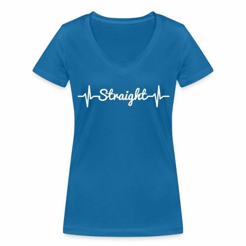 Pulse Straight - Frauen Bio-T-Shirt mit V-Ausschnitt von Stanley & Stella