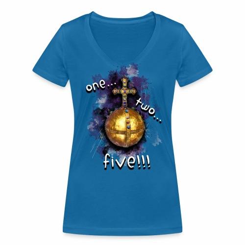 holy hand grenade of antioch - Camiseta ecológica mujer con cuello de pico de Stanley & Stella