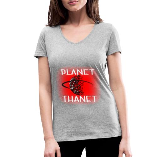Planet Thanet - Made in Margate - Women's Organic V-Neck T-Shirt by Stanley & Stella