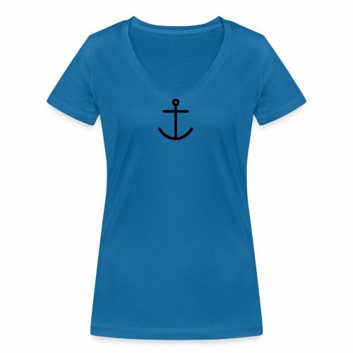 Haddock - Ekologisk T-shirt med V-ringning dam från Stanley & Stella