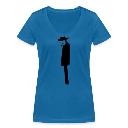 The Bad - T-shirt bio col V Stanley & Stella Femme