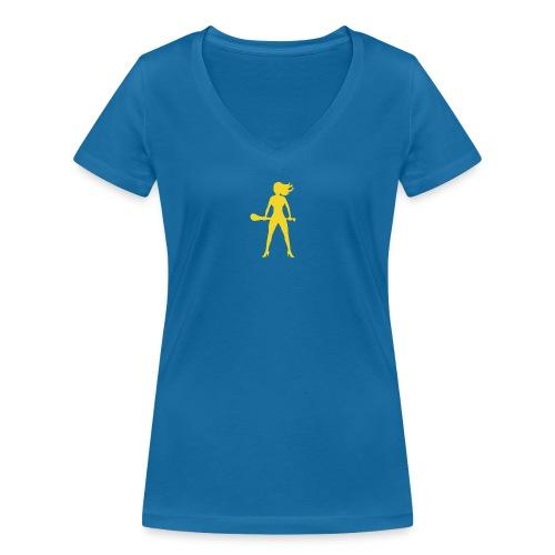 hurlingbabegoldt - Women's Organic V-Neck T-Shirt by Stanley & Stella