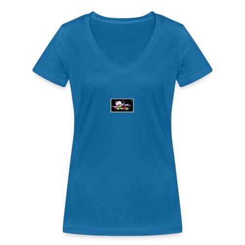 One Punche - Camiseta ecológica mujer con cuello de pico de Stanley & Stella