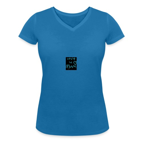 meah clothing - Women's Organic V-Neck T-Shirt by Stanley & Stella