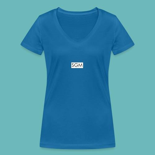 sgm - T-shirt bio col V Stanley & Stella Femme