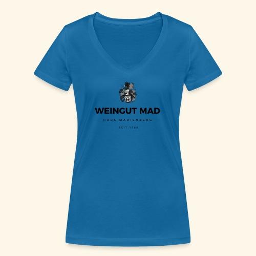 Weingut MAD - Frauen Bio-T-Shirt mit V-Ausschnitt von Stanley & Stella