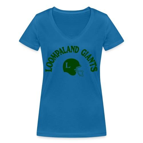 Willy Wonka heeft een team - Vrouwen bio T-shirt met V-hals van Stanley & Stella