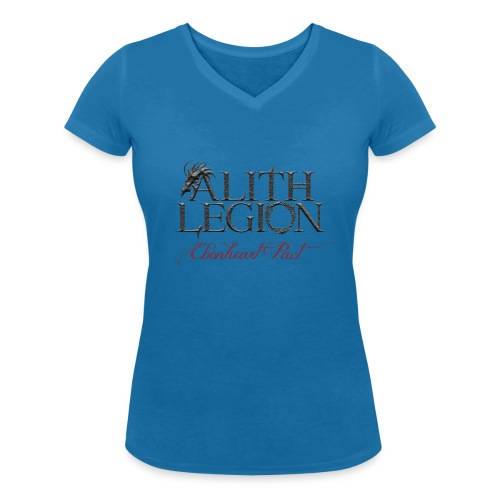 Alith Legion Logo Dragon Ebonheart Pact - Women's Organic V-Neck T-Shirt by Stanley & Stella