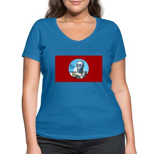 Match 2.0 - Ekologisk T-shirt med V-ringning dam från Stanley & Stella