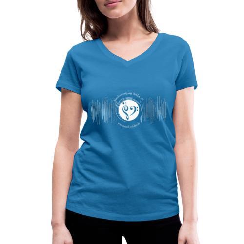 Jugendkapelle_ws - Frauen Bio-T-Shirt mit V-Ausschnitt von Stanley & Stella