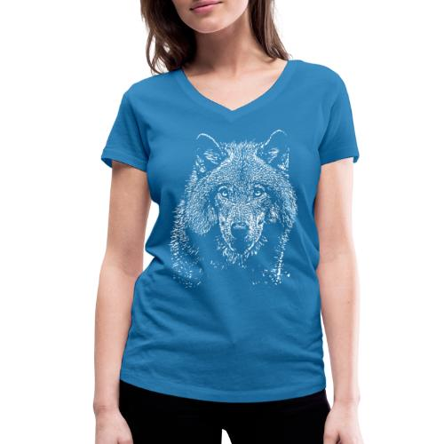 Wolf - T-shirt bio col V Stanley & Stella Femme